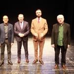 Jury przeglądu - Od lewej: Mieczysław Wojtas, Jerzy Wrzos, Mark Atkinson, Henryk Kowalczyk